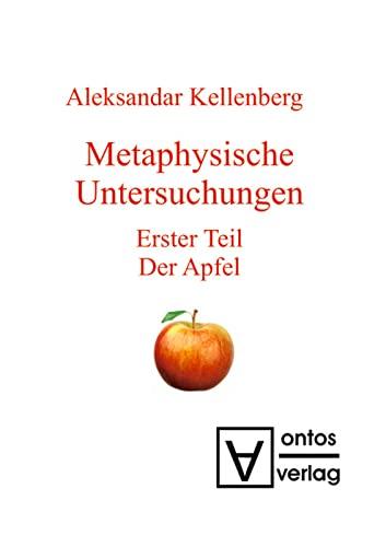 9783110333060: Monadischer Raum: Erster Teil: Der Apfel