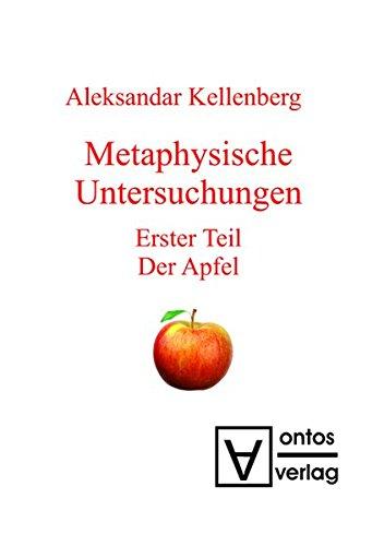 9783110333268: Monadischer Raum: Erster Teil: Der Apfel