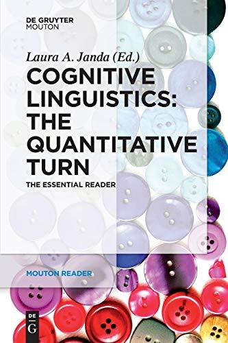 9783110333886: Cognitive Linguistics: The Quantitative Turn: The Essential Reader (Mouton Reader)