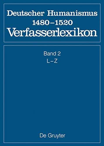 Die deutsche Literatur des Mittelalters 2. Deutscher Humanismus: Burghart Wachinger