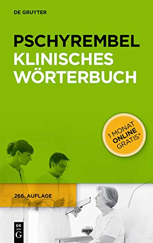 9783110339970: Pschyrembel Klinisches Worterbuch (German Edition)