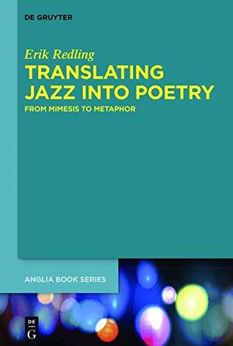 9783110344592: Translating Jazz Into Poetry (Buchreihe Der Anglia)