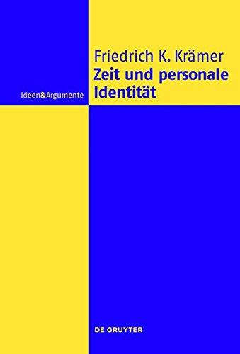9783110351569: Zeit Und Personale Identitat (Ideen & Argumente)