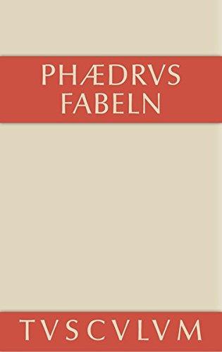 9783110356823: Fabeln: Lateinisch-Deutsch (Sammlung Tusculum) (German Edition)