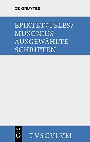 9783110359442: Ausgewahlte Schriften: Griechisch - Deutsch (Sammlung Tusculum) (German Edition)