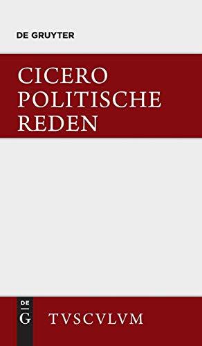 9783110360899: Die politischen Reden, Band 1, Sammlung Tusculum