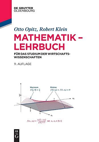 9783110364712: Mathematik - Lehrbuch: Fur Das Studium Der Wirtschaftswissenschaften (De Gruyter Studium) (German Edition)