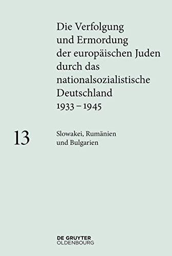 9783110365009: Slowakei, Rumanien, Bulgarien (German Edition)