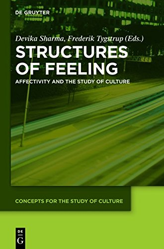 9783110365498: Structures of Feeling: Affectivity and the Study of Culture (Concepts for the Study of Culture (CSC))
