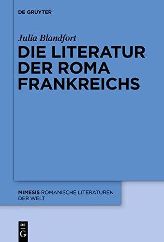 9783110366662: Die Literatur Der Roma Frankreichs (Mimesis)