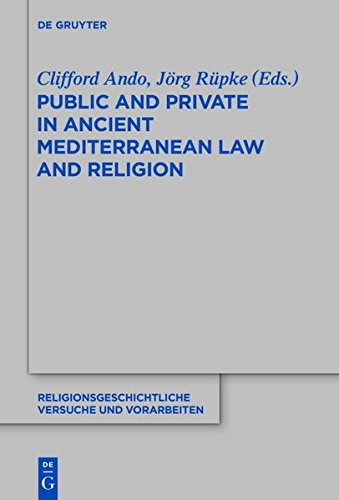 9783110367041: Public and Private in Ancient Mediterranean Law and Religion