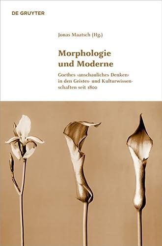9783110372120: Morphologie und Moderne: Goethes >anschauliches Denken< in den Geistes- und Kulturwissenschaften seit 1800 (Klassik Und Moderne Schriftenreihe der Klassik Stiftung Weimar)
