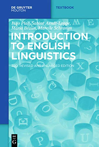 9783110376180: Introduction to English Linguistics (Mouton Textbook)