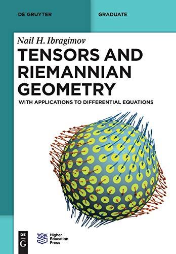 9783110379495: Tensors and Riemannian Geometry (De Gruyter Textbook)