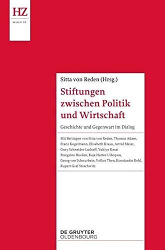 Stiftungen zwischen Politik und Wirtschaft: Sitta von Reden