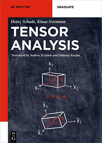 9783110404258: Tensor Calculus (De Gruyter Textbook)