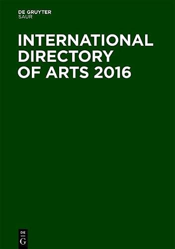 International Directory of Arts 2016