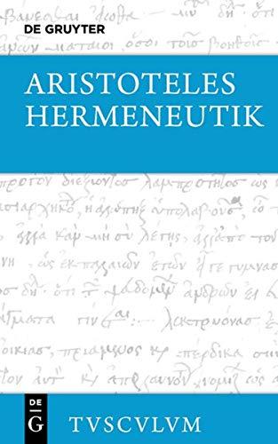 Hermeneutik / Peri hermeneias: Aristoteles