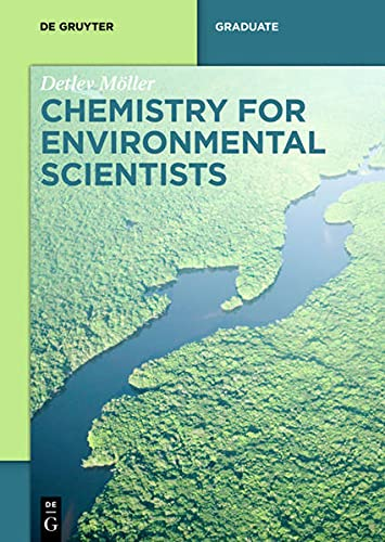 9783110409994: Chemistry for Environmental Scientists (De Gruyter Textbook)