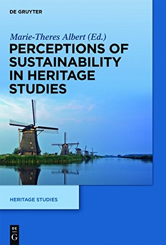 9783110415285: Perceptions of Sustainability in Heritage Studies