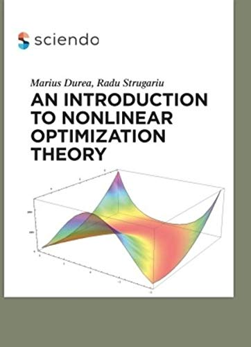 9783110426038: An Introduction to Nonlinear Optimization Theory