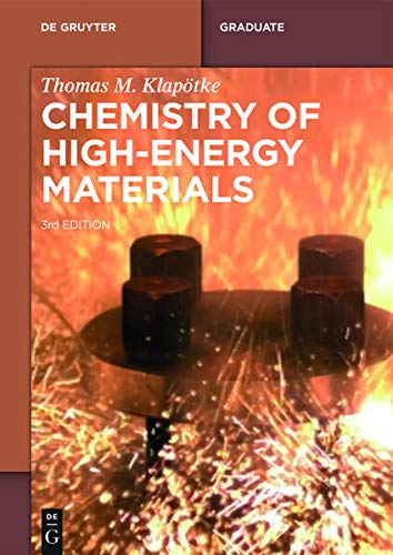 9783110439328: Chemistry of High-Energy Materials (De Gruyter Textbook)
