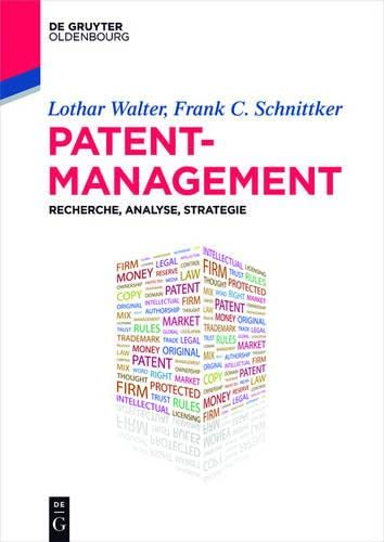 9783110443448: Patentmanagement: Recherche, Analyse, Strategie (De Gruyter Studium) (German Edition)