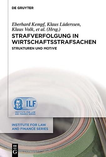 Strafverfolgung in Wirtschaftsstrafsachen: Eberhard Kempf
