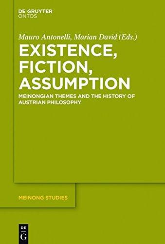 9783110453287: Existence, Fiction, Assumption: Meinongian Themes and the History of Austrian Philosophy (Meinong Studies/Meinong Studien)