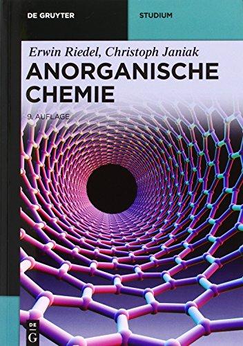 Kombi Anorganische Chemie, 9.A. und Übungsbuch Allgemeine und Anorganische Chemie 3.A.: Erwin ...