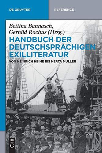 9783110485783: Handbuch der deutschsprachigen Exilliteratur (de Gruyter Handbook)