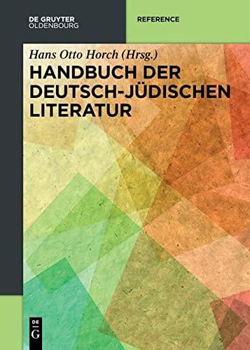 9783110577242: Handbuch der deutsch-jüdischen Literatur