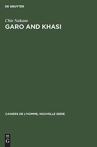 9783110985382: Garo and Khasi: A Comparative Study in Matrilineal Systems