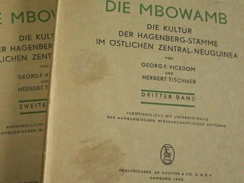 9783110992335: Die Mbowamb