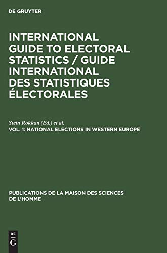 9783110993479: National Elections in Western Europe: Aus: International Guide to Electoral Statistics, 1