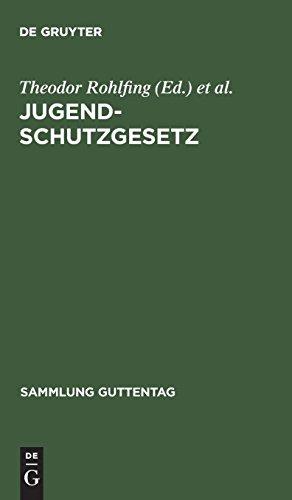 9783111029221: Jugendschutzgesetz (Sammlung Guttentag)