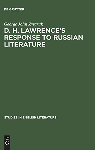 9783111030203: D. H. Lawrence's response to Russian literature (Studies in English Literature)