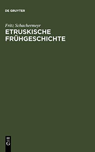 9783111117713: Etruskische Frühgeschichte