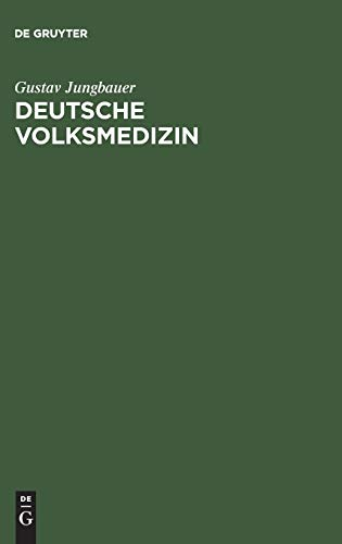 9783111128979: Deutsche Volksmedizin (German Edition)