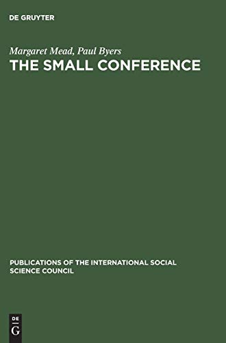 9783111188461: The small conference (Publications of the International Social Science Council)