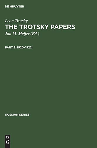 9783111191171: 1920 - 1922: Aus: The Trotsky Papers: 1917 - 1922, 2