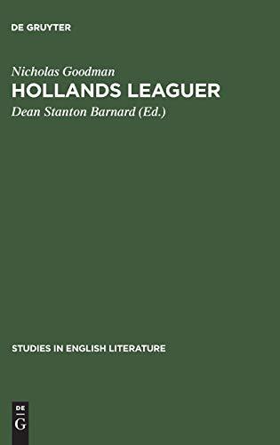Hollands Leaguer: Nicholas Goodman