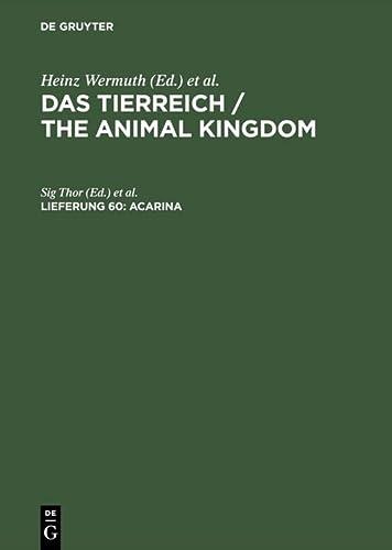 9783111242835: Acarina (German Edition)