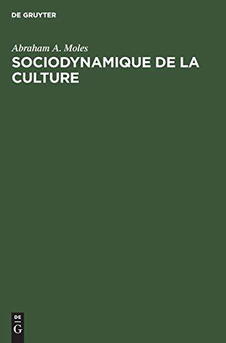 9783111287621: Sociodynamique de La Culture (French Edition)