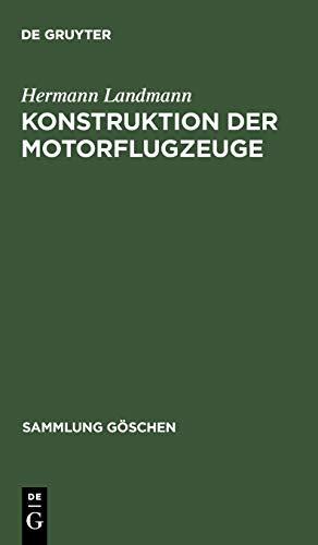 Konstruktion Der Motorflugzeuge: Hermann Landmann