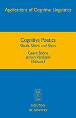 9783111732442: Cognitive Poetics: Goals, Gains and Gaps (Applications of Cognitive Linguistics [Acl])