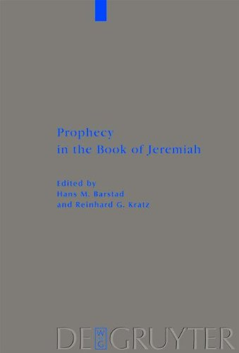9783111733067: Prophecy in the Book of Jeremiah