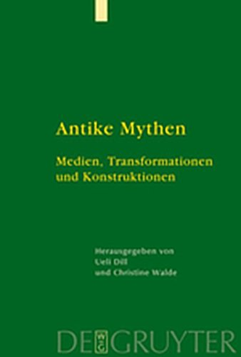 9783111733388: Antike Mythen: Medien, Transformationen Und Konstruktionen (German Edition)