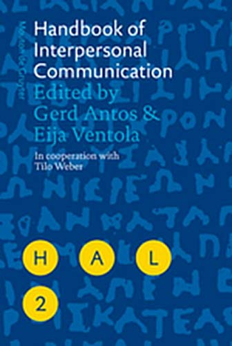 9783111733968: Handbook of Interpersonal Communication