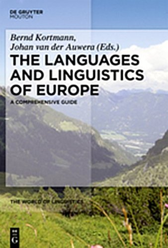 9783111734750: The Languages and Linguistics of Europe: A Comprehensive Guide (The World of Linguistics)